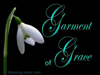 Garment of Grace (black) (devotional)
