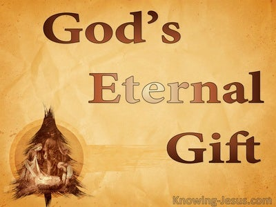 God's Eternal Gift  (devotional) (orange)