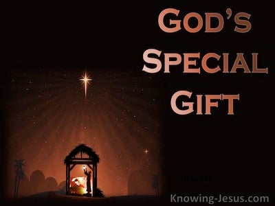 God's Special Gift (devotional) (brown)