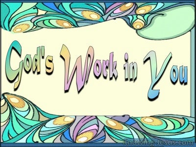God's Work in You (devotional)