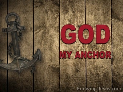 God, My Anchor (devotional) (brown)