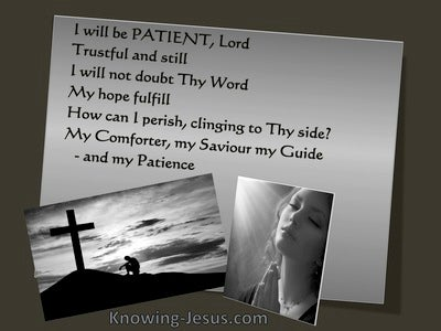 God, My Patience (devotional)03-02 (gray) - poem