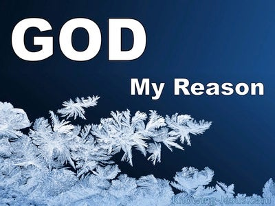 God, My Reason (devotional)02-27