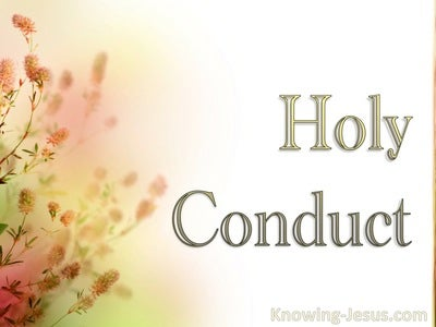 Holy Conduct (devotional)