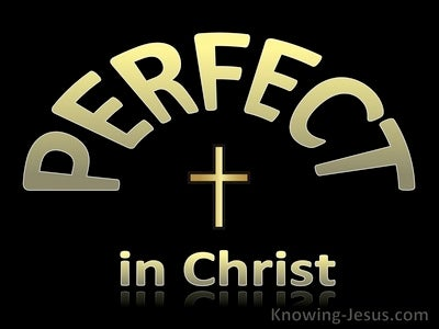Perfect in Christ (devotional)