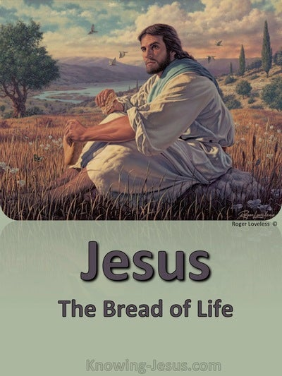 John 6:48 Bread Of Life (devotional)07-23 (sage)