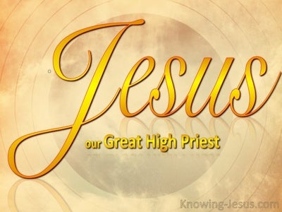 JESUS-the Great High Priest (gold)