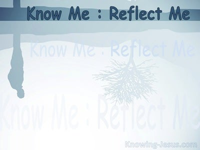 Know Me - Reflect Me (devotional)02-17 (gray)