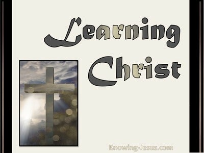 Learning Christ (devotional) (white)