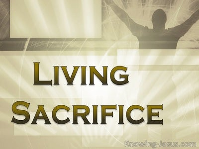 Living Sacrifice (devotional) (brown)