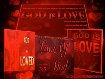 Multiplied Dimensions of Love (devotional) (red) - 2 Thessalonians 3:5