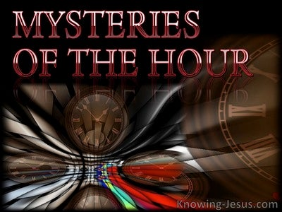 Mysteries of the Hour (devotional)