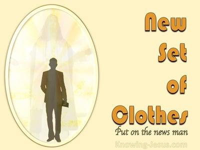 Ephesians 4:24 New Set of Clothes (devotional)12:09 (yellow)