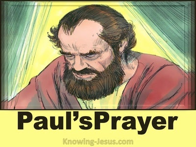 Paul's Powerful Prayer (devotional)