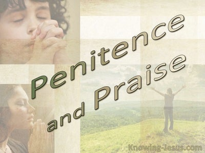 Penitence and Praise (devotional)