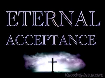 Eternal Acceptance (devotional) (navy)