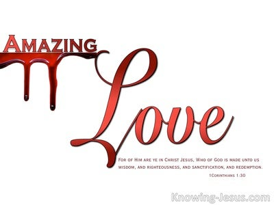 Simply Amazing (devotional) (white) - 1 Corinthians 1:30