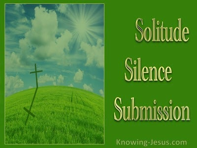 Solitude, Silence, Submission (devotional)