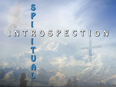 Spiritual Introspection (devotional)