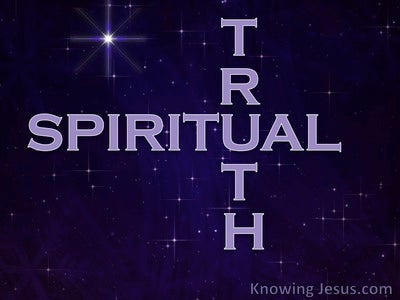 Spiritual Truth (devotional)