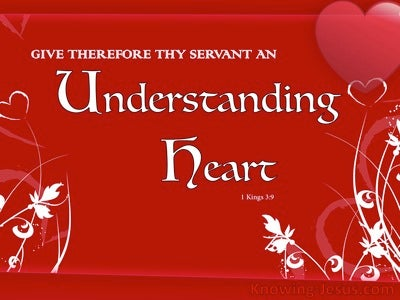 Spiritual Understanding (devotional) (red) - 1 Kings 3:9