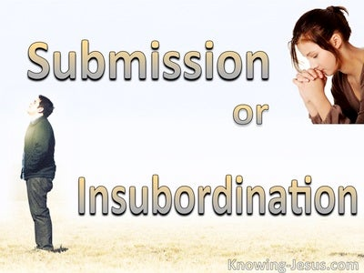 Submission Or Insubordination (beige)