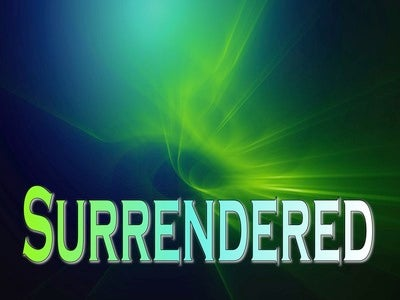 Surrendered (devotional)