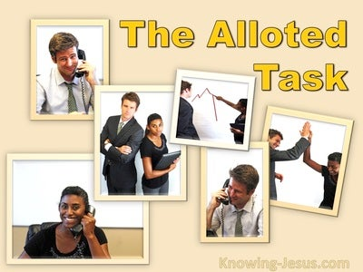 The Allotted Task (devotional)03-24 (yellow)