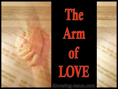 The Arm Of Love (devotional) (red)