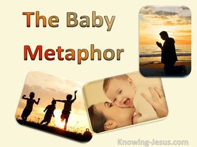 The Baby Metaphor (devotional) (cream)