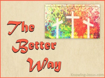 The Better Way (devotional) (orange) - 1 Corinthians 12:31