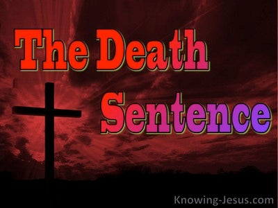The Death Sentence (devotional)
