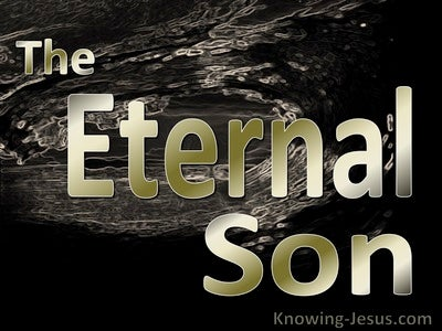 The Eternal Son  (devotional) (gold)
