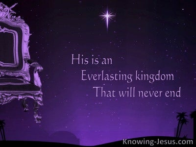 Daniel 4:3 The Everlasting King (devotional)08:19 (purple)