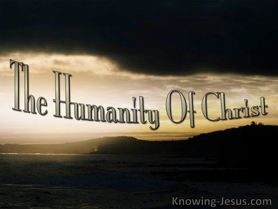 1 John 4:3 The Humanity of Christ (devotional)09:06 (beige)