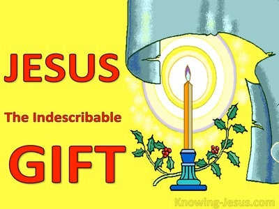 The Indescribable Gift (devotional) (yellow)