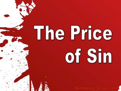 The Price of Sin (devotional)
