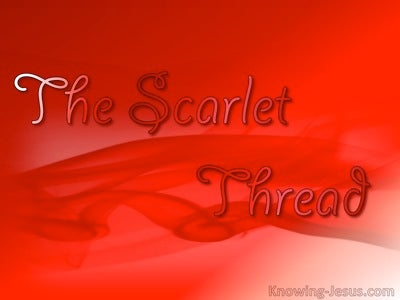 The Scarlet Thread (devotional) (red)