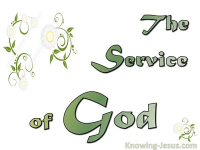 The Service  Of God (devotional)