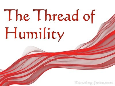 The Thread of Humility (devotional) (red)