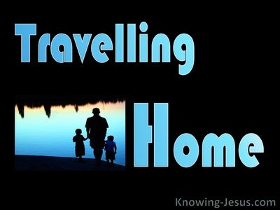 Travelling Home (devotional) (blue)