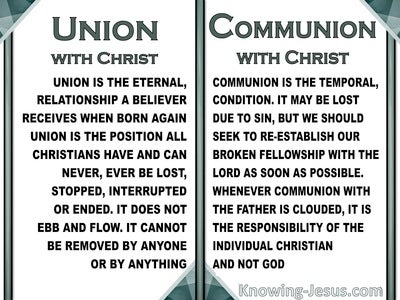 Union and Communion (devotional) (white) - Philippians 2:1
