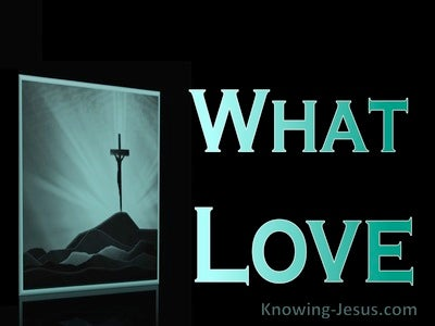What Love (devotional) (aqua)