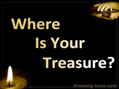 Where Is Your Treasure (black)