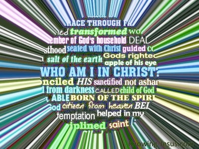 Who I Am In Christ (devotional) (black)