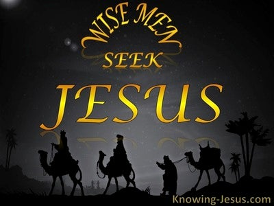 Wise Men (devotional) (black) - Matthew 2:2