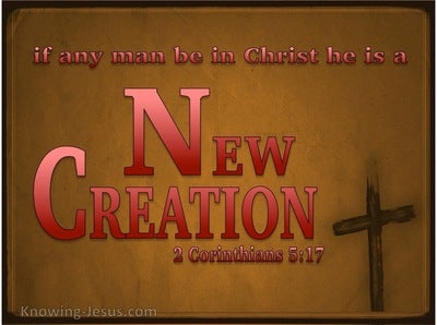 2 Corinthians 5:17 Old Things Are Passed Away (red)