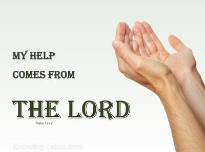 Psalm 121:2 My Help Comes From The Lord (devotional)03:01 (green)