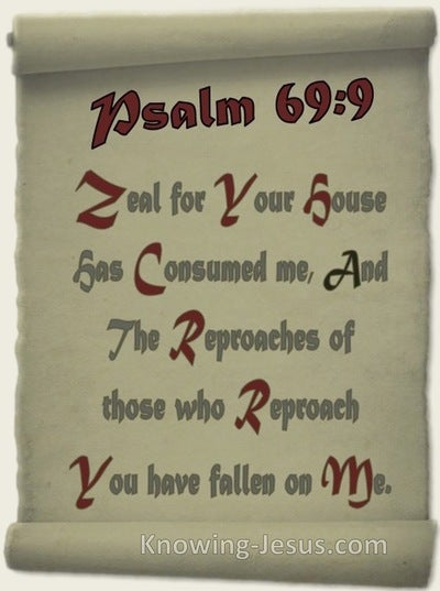 Romans 15:3 Those Who Reproached You Reproached Me (maroon)