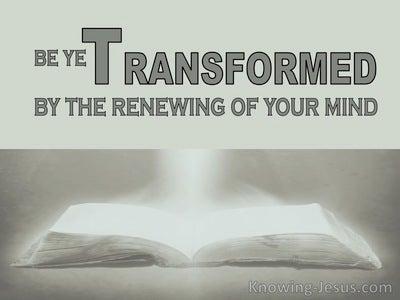 Romans 2:2 Right Thinking (devotional)07:13 (gray)